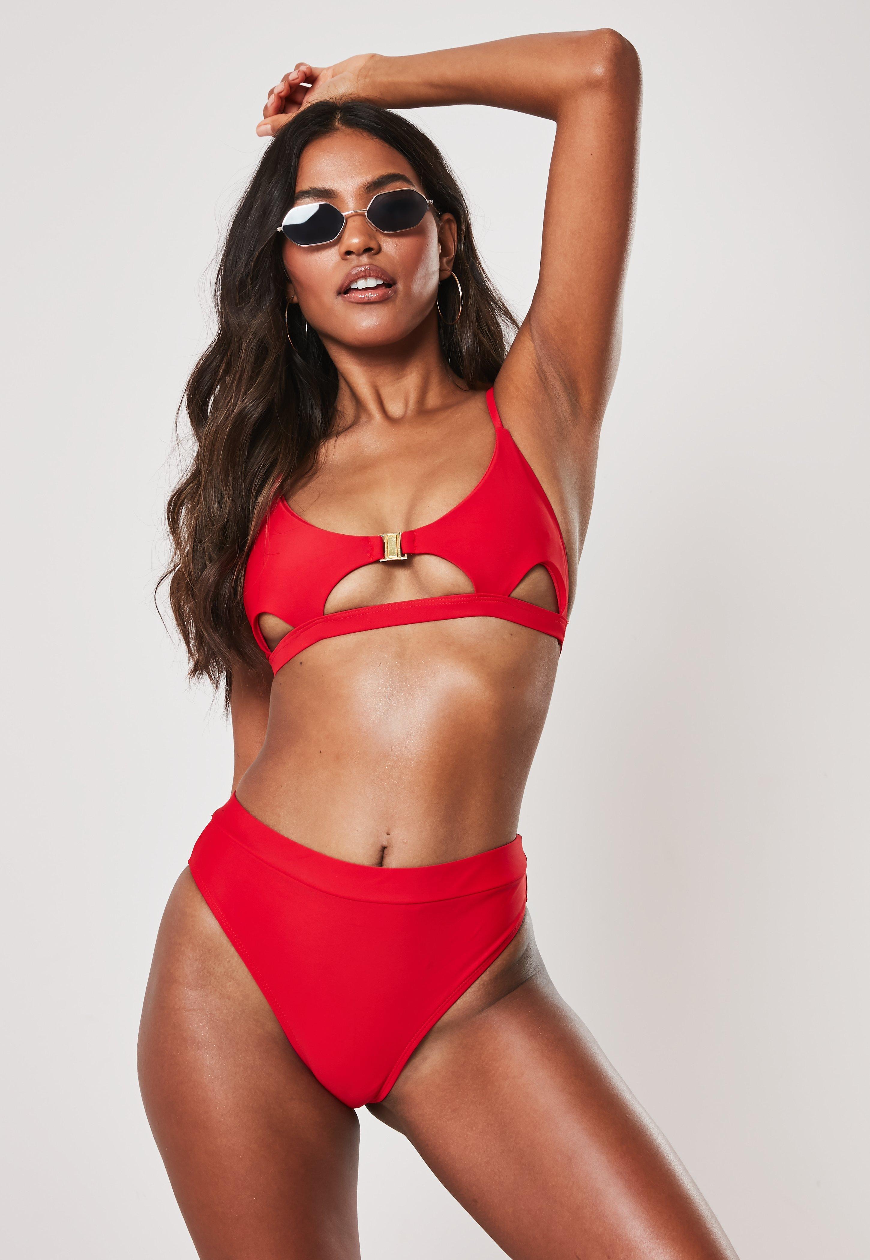 12286d7ec78b6 Triangle Bikinis | String & Strappy Bikinis - Missguided
