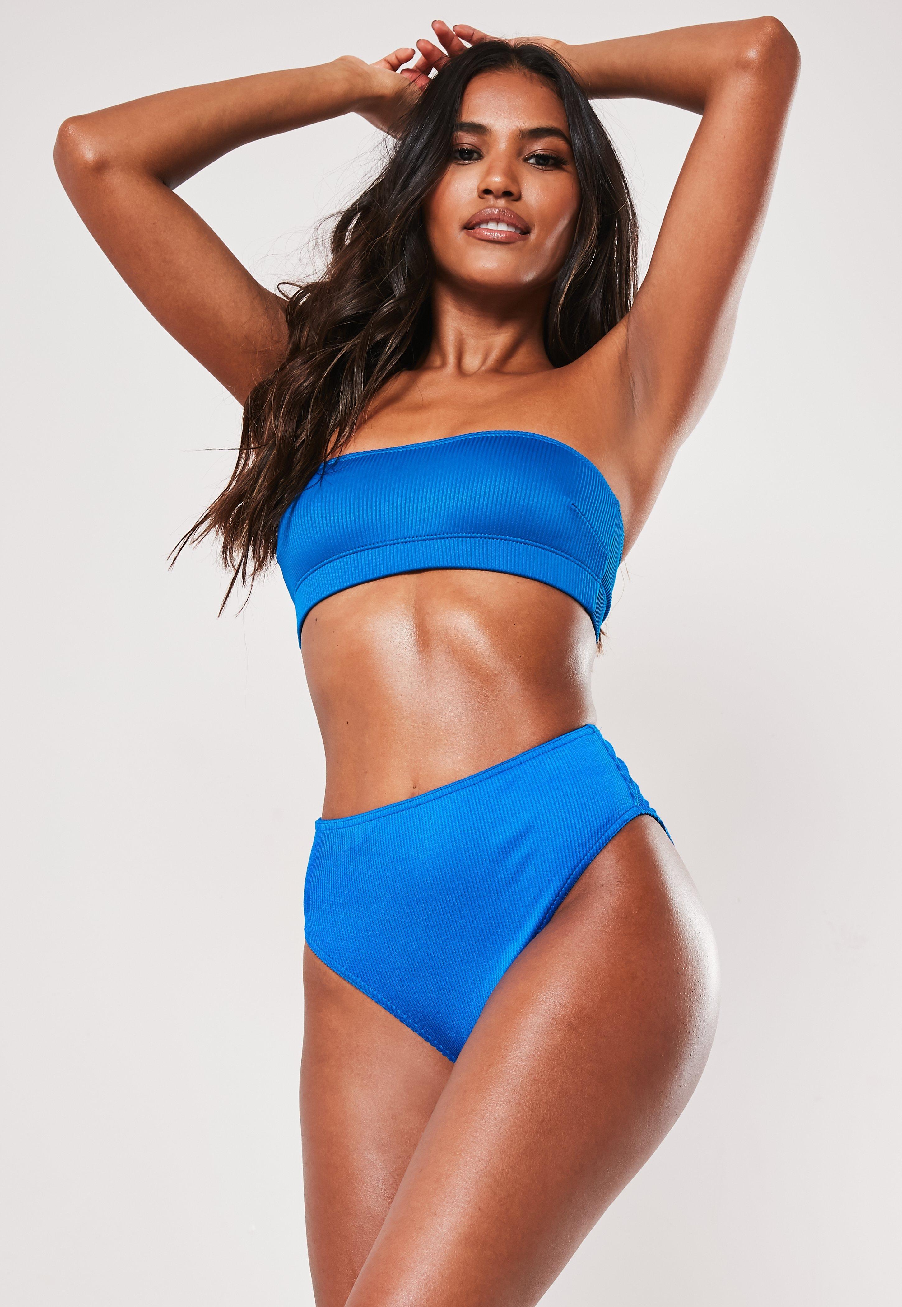38dbfa506f8b High Cut Swimsuits - High Leg Bikini Bottoms   Missguided