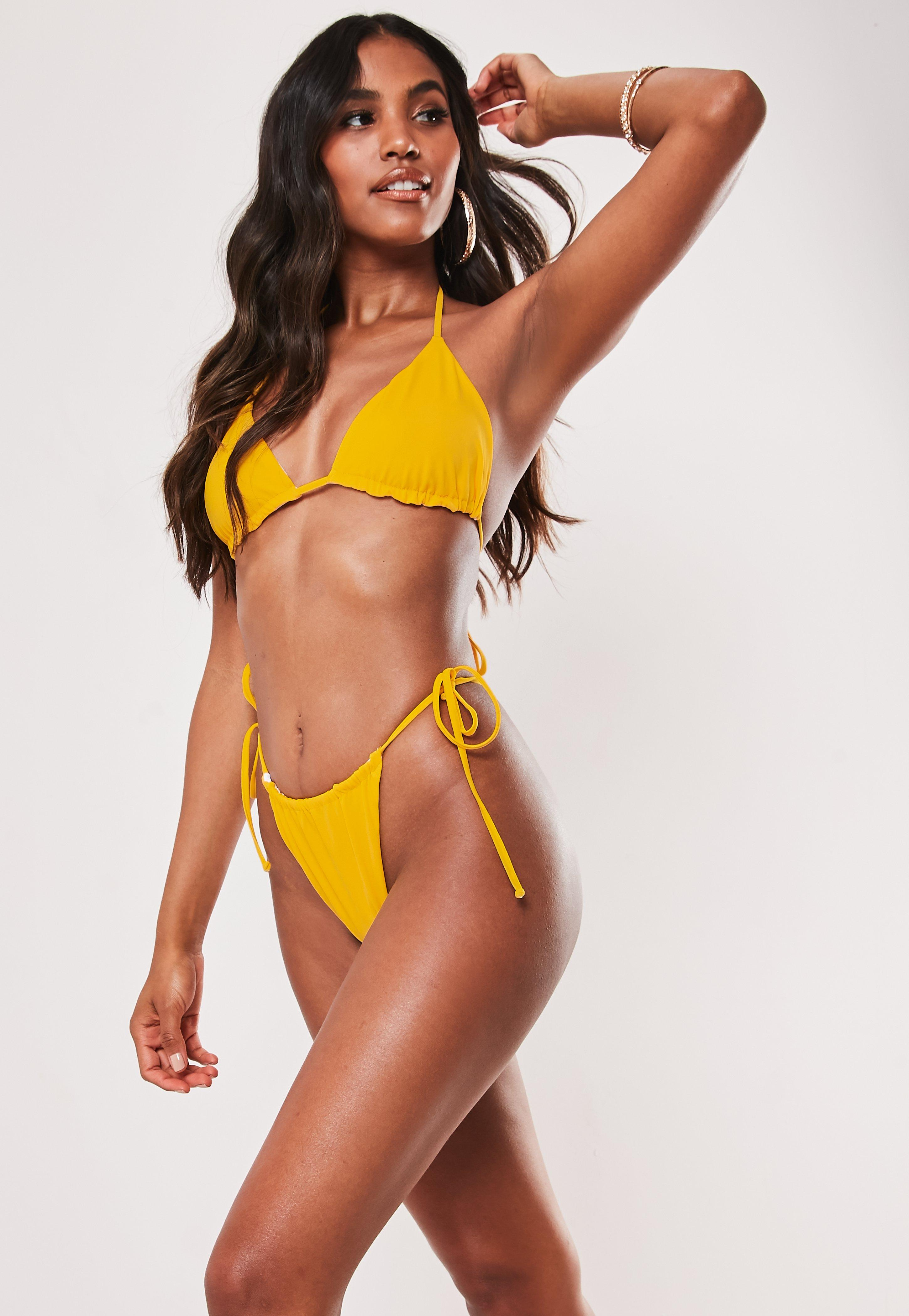 e1823dbcbc02d Yellow Swimwear | Yellow Bikinis & Swimsuits - Missguided
