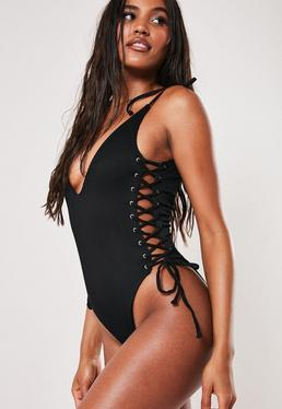 e021d27597 One Piece Swimsuits - High Cut Bathing Suits | Missguided