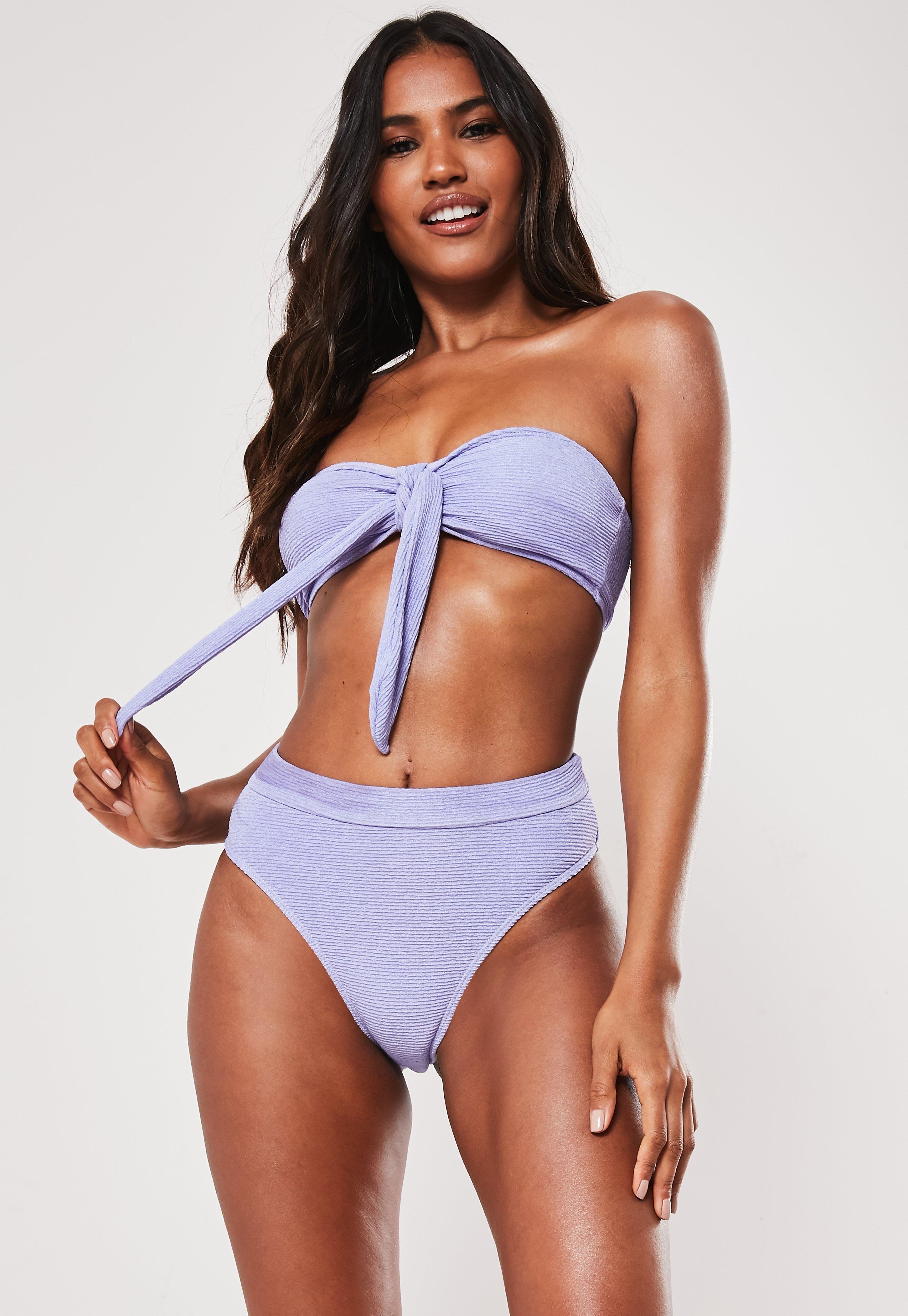 181ca01e7ba Tie Front Bikini | Tie Front Swimsuits & Bikini Tops - Missguided