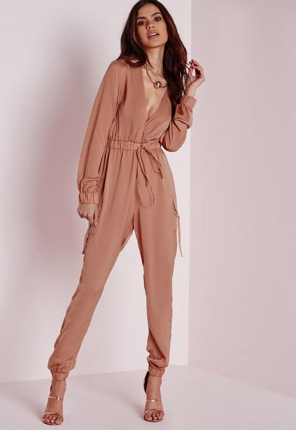 Shop BCBGMAXAZRIA, Long-Sleeve Jumpsuit at Lord & Taylor. Free shipping on any order over $ In order to use all of the site functionality on the Lord and Taylor website, you must have JavaScript enabled on your browser.