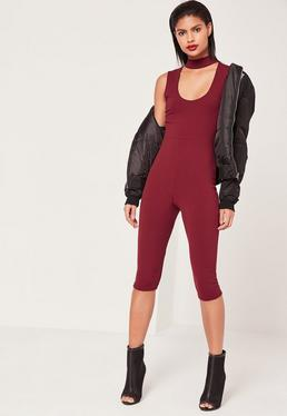 Culotte Jumpsuits - Women's Cropped Jumpsuits | Missguided