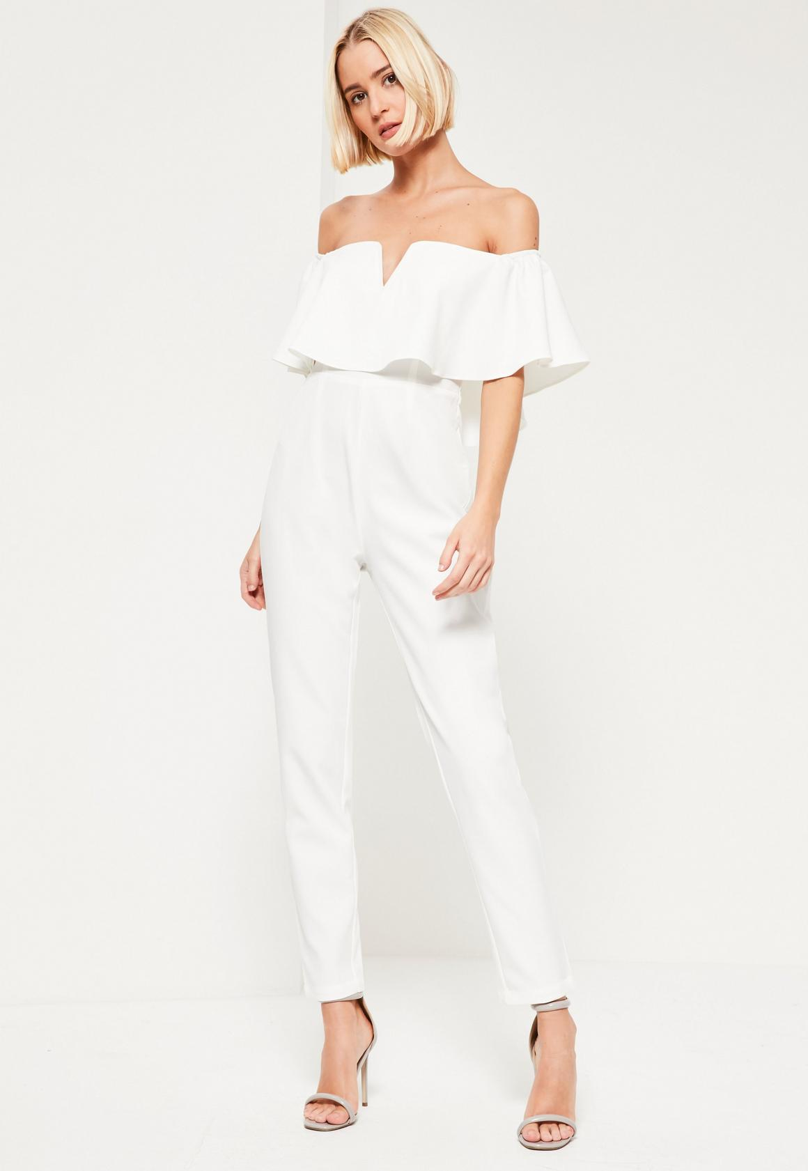 93d6984042c White Jumpsuits