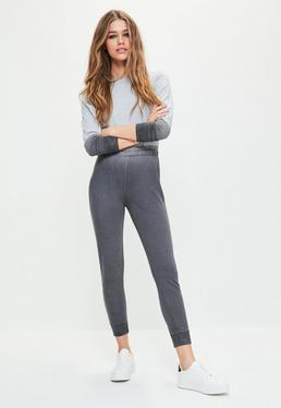 Grey Ombre Long Sleeve Jumpsuit