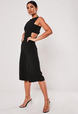 1ebc656422 Skater Dresses. Square Neck Dresses. Blazer Jumpsuits. Black Jumpsuits