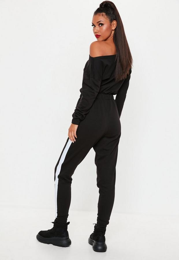 Missguided - Tracksuit Jumpsuit - 4