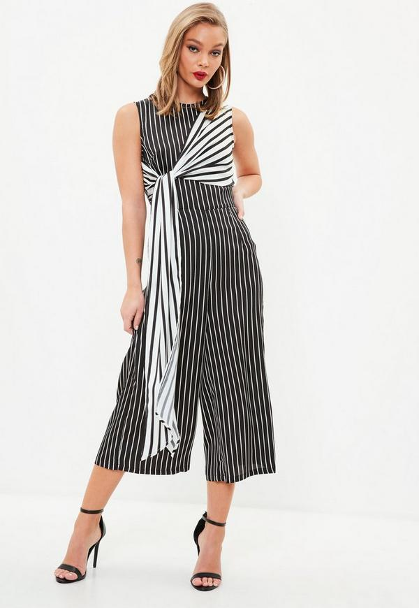 f72f0f3f911d black-and-white-stripe-culottes-jumpsuit by missguided