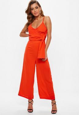 f58038a4d41 Orange Jumpsuits · Plus Size Jumpsuits