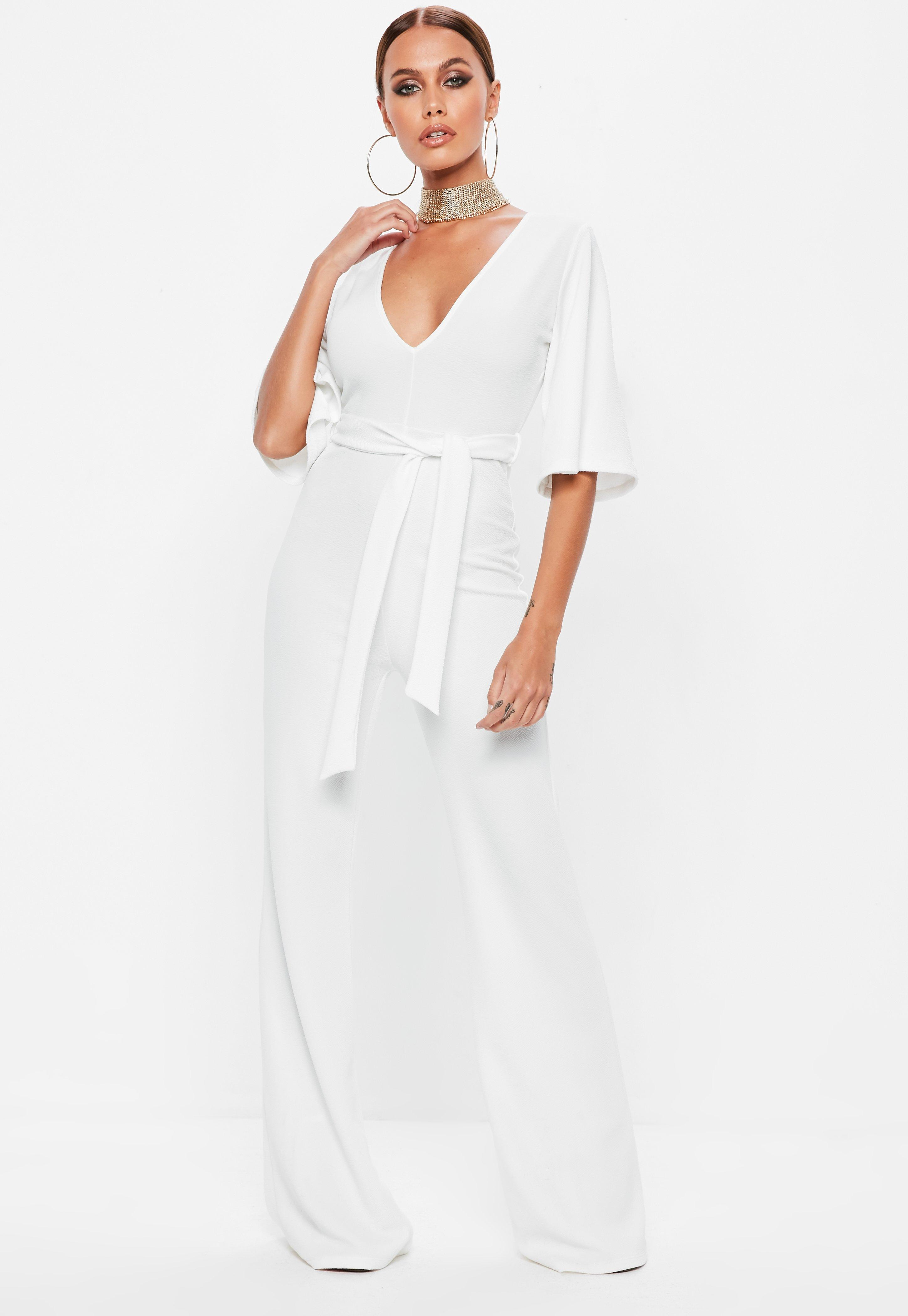 acc116b9cdc White Jumpsuits