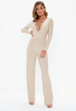 Casual Jumpsuits Jersey Day Jumpsuits Missguided