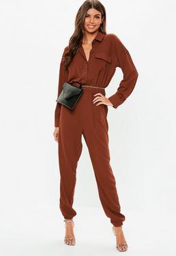 d1706e131d6 Long Sleeve Jumpsuits