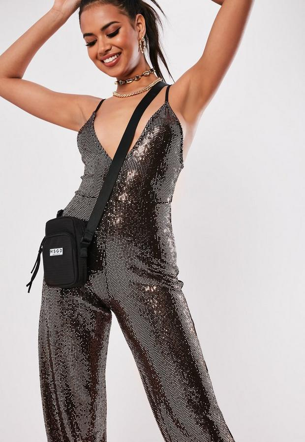 Missguided - Sewn Through Disc Jumpsuit - 2
