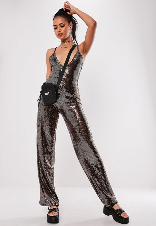 Missguided - Sewn Through Disc Jumpsuit - 3