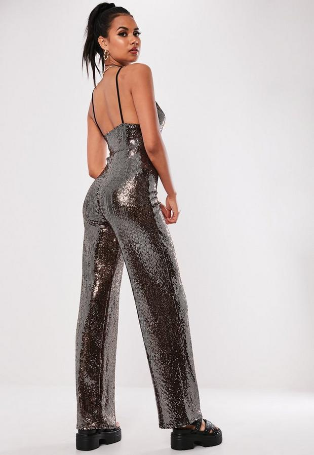 Missguided - Sewn Through Disc Jumpsuit - 4