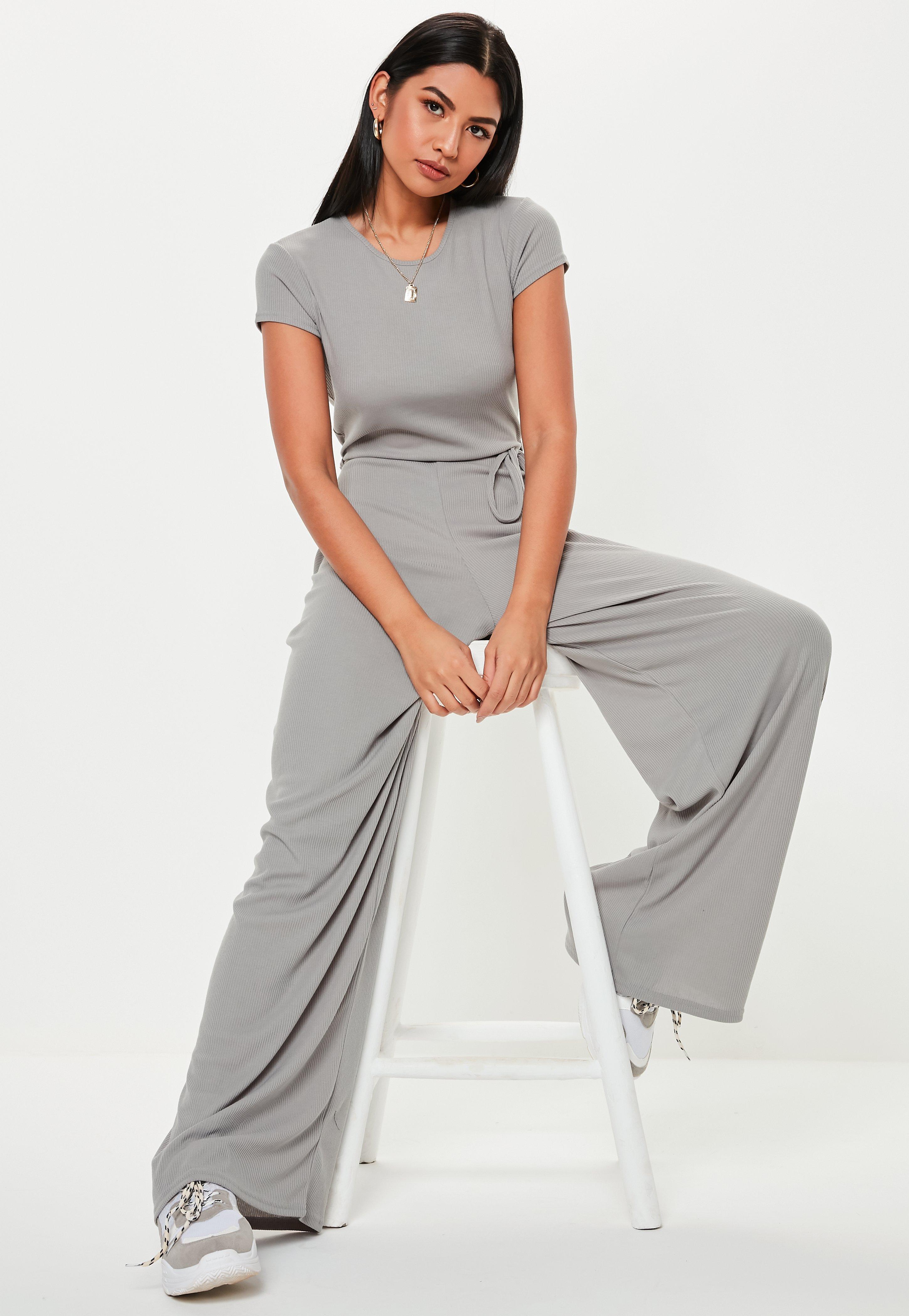 13e47218c2e Grey Jumpsuits