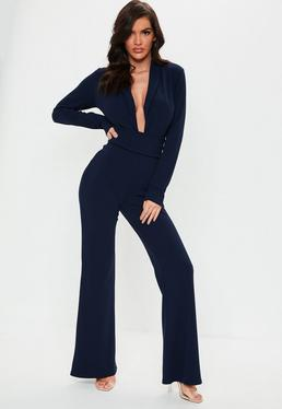 6c210d55857e Long Sleeve Jumpsuits | Jumpsuit with Sleeves - Missguided