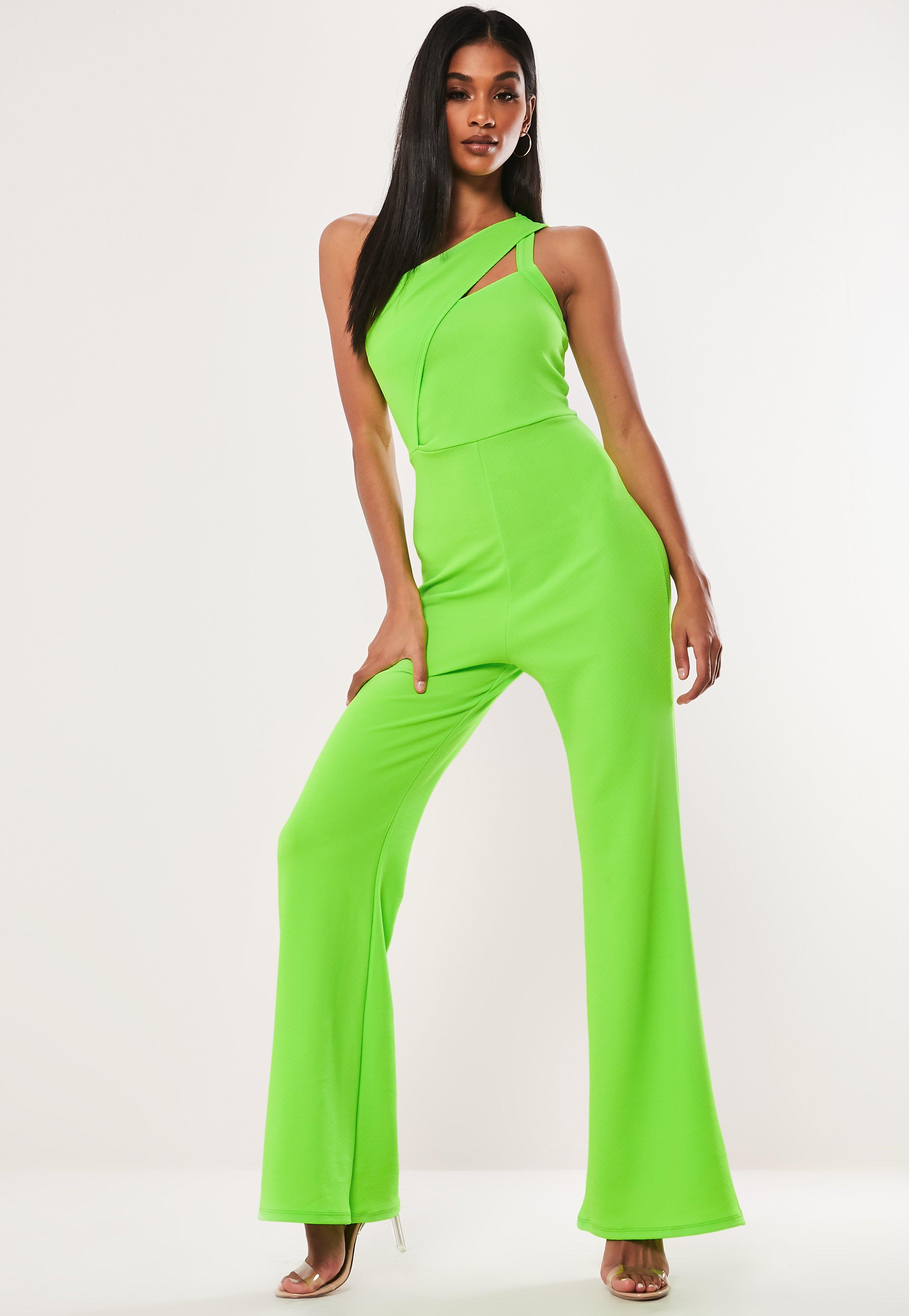 88323e0bfc1 Green Jumpsuits