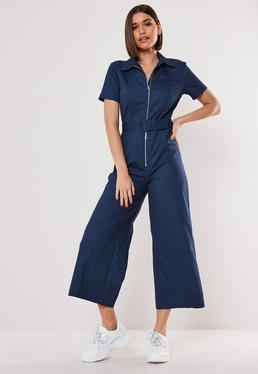 12c345485db1 Culotte Jumpsuits - Women's Cropped Jumpsuits | Missguided