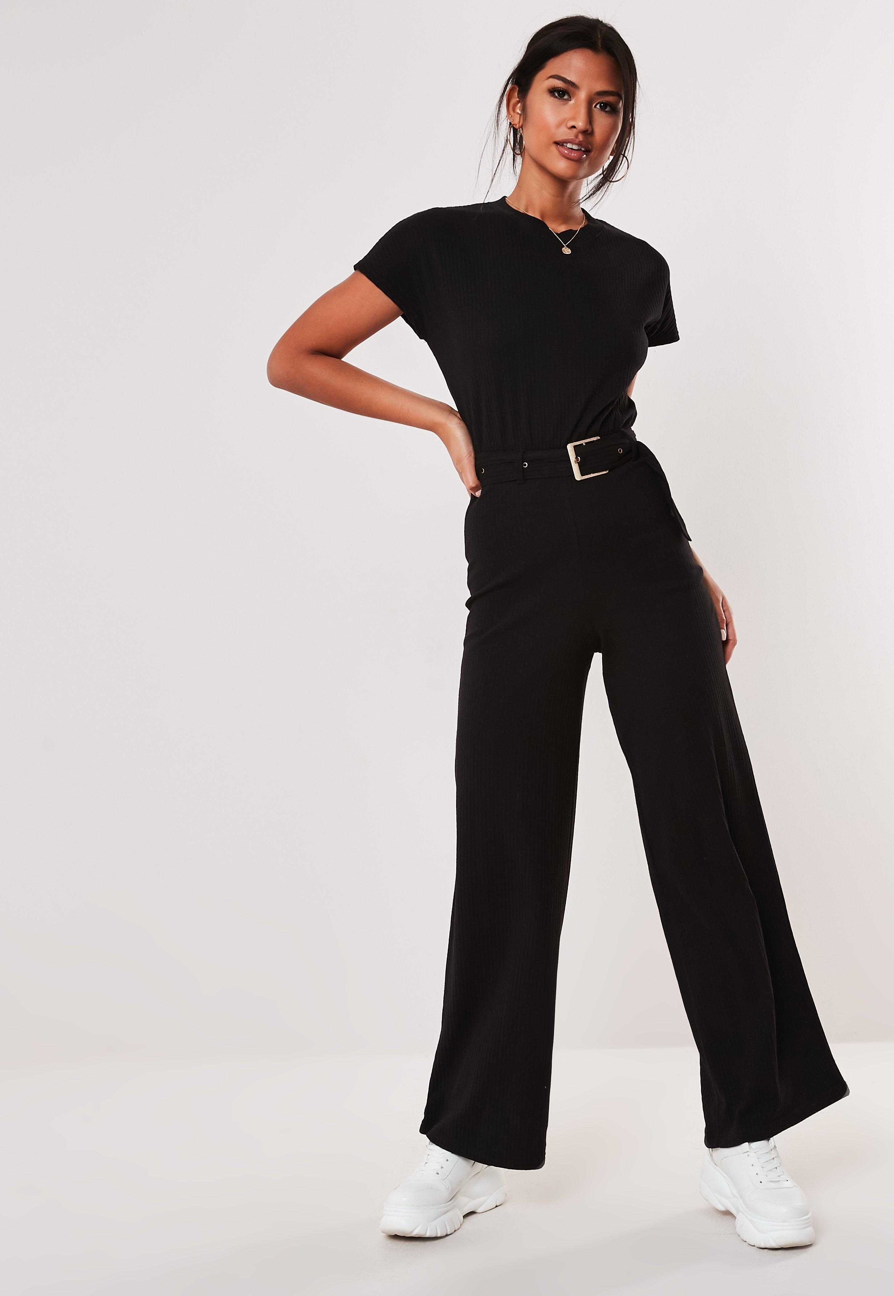 2018 Summer New Women Sexy Square Collar Slim Fit Jumpsuit Women's Clothing