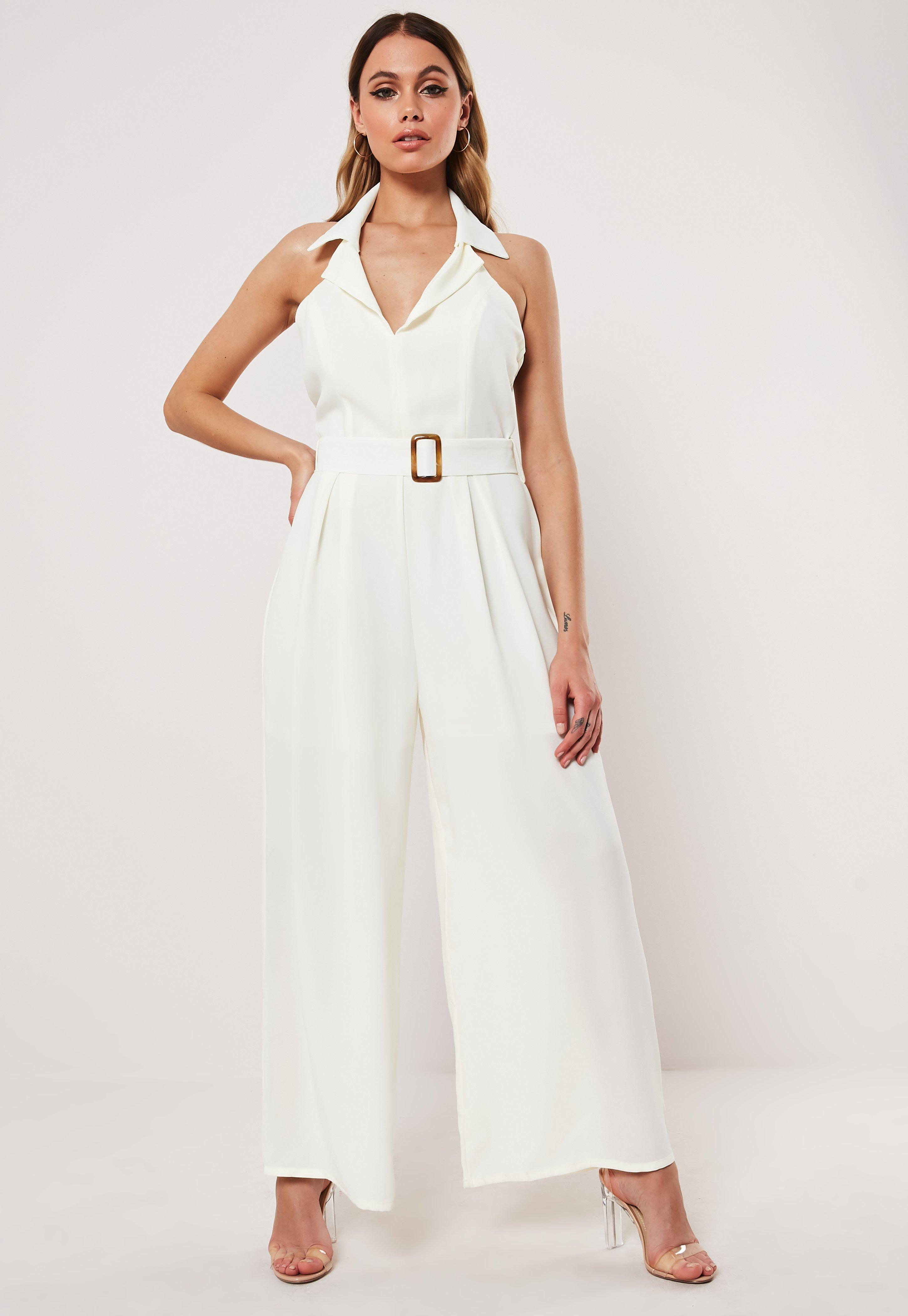 ab53f59e55f21 Plunge Jumpsuits | V Neck & Low Cut Jumpsuits - Missguided
