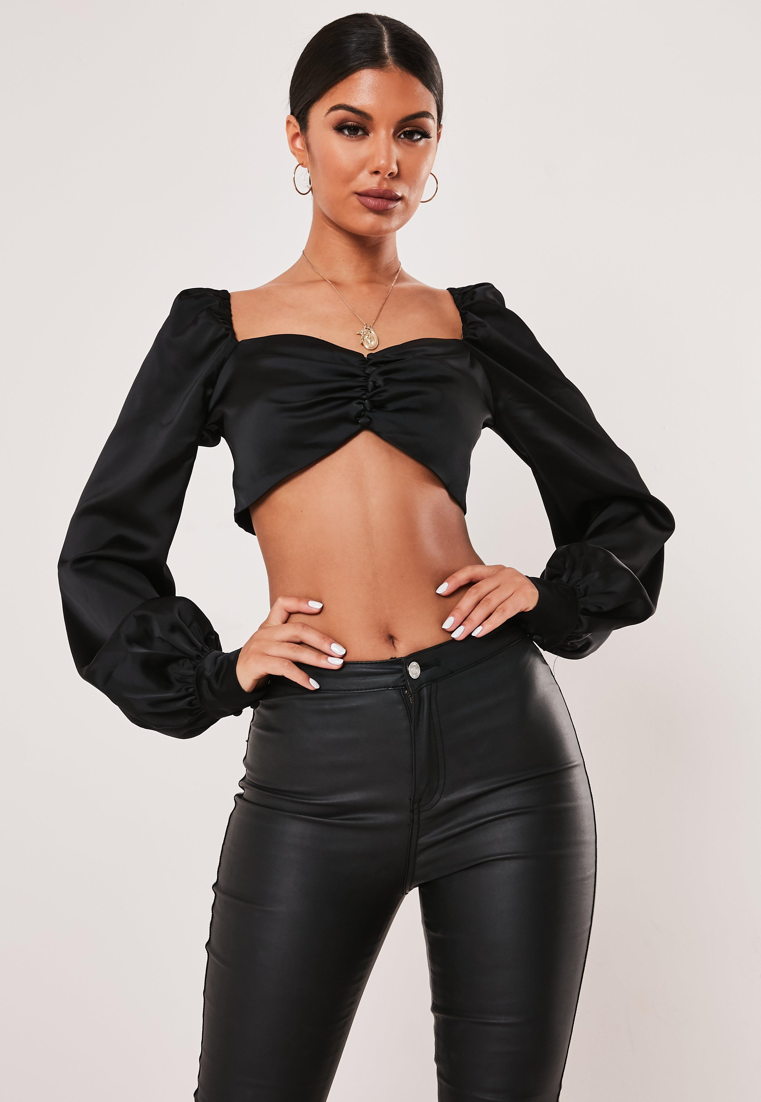 aeeb48b994a004 Plunge Tops   Low Cut & V Neck Tops - Missguided