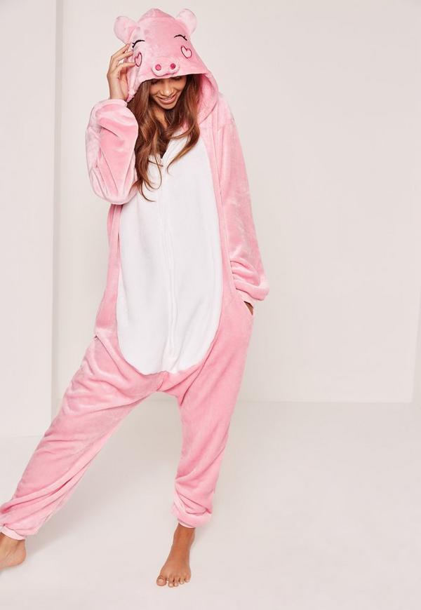Pink Piggy Onesie