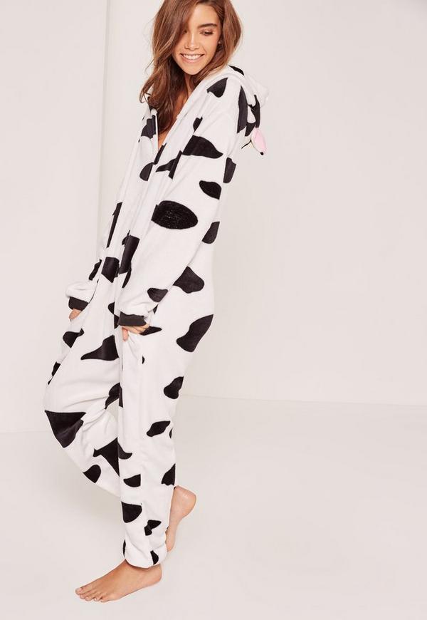 Cow Print Onesie