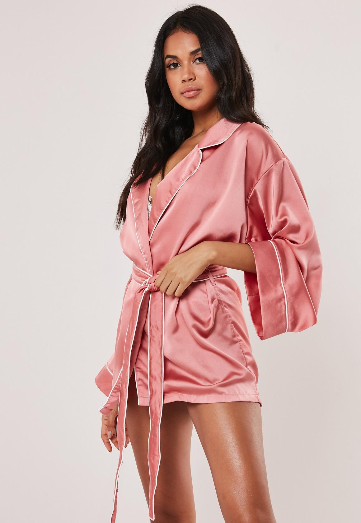 Dressing Gowns | Women\'s Satin Robes - Missguided