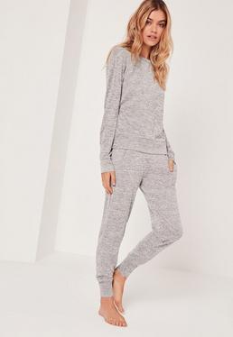 Survêtement gris confortable