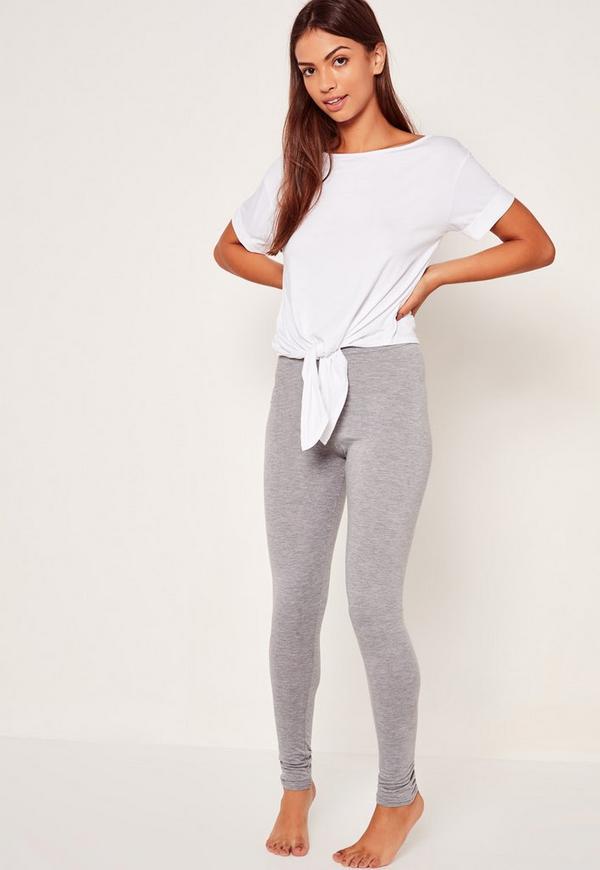 Legging Pj Set Grey