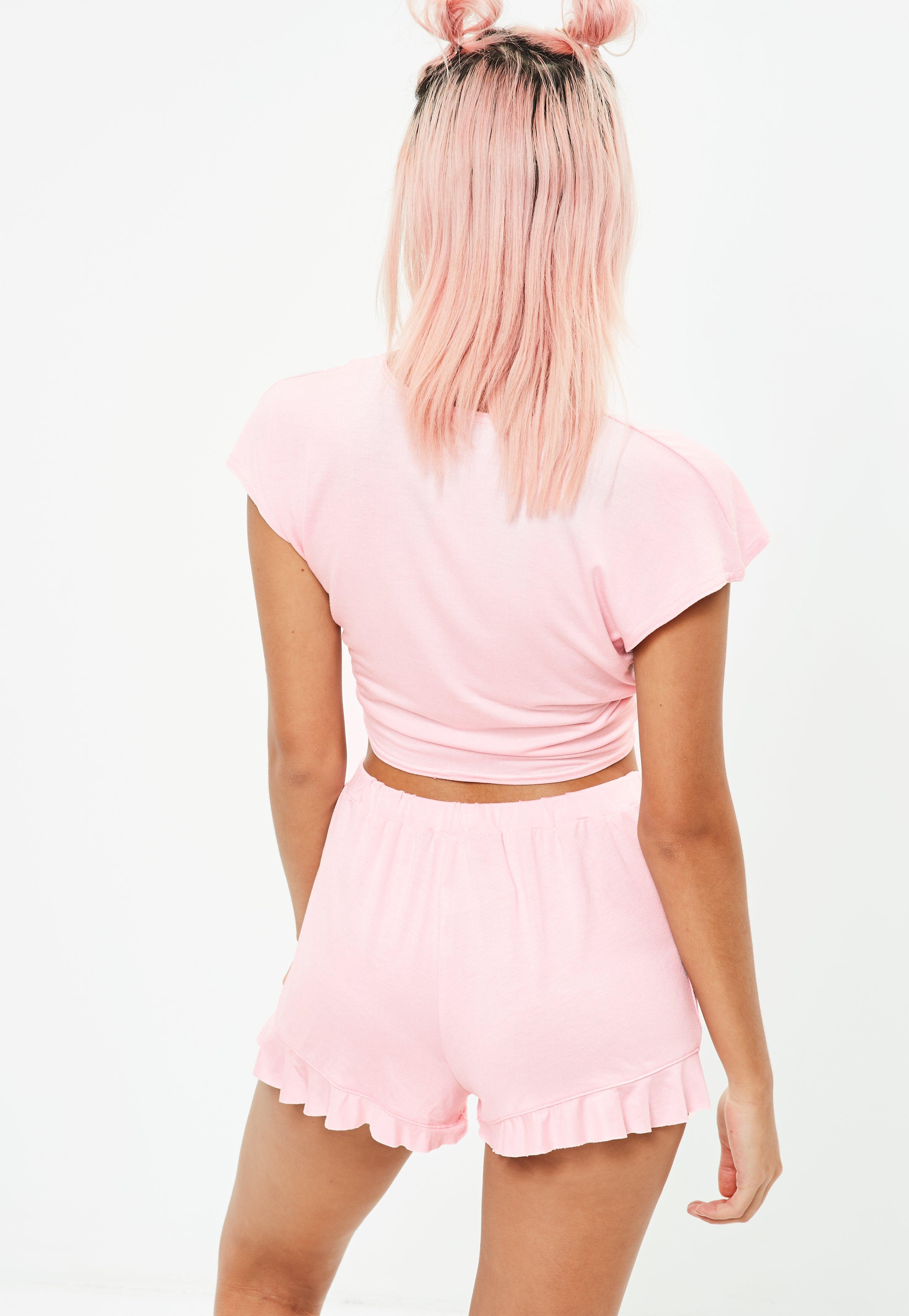 Manchester Missguided Crop Tie Lounge Set Release Dates Online Clearance Explore c7X4OE5r2