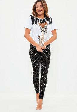 Bambi Leggings Pajama Set