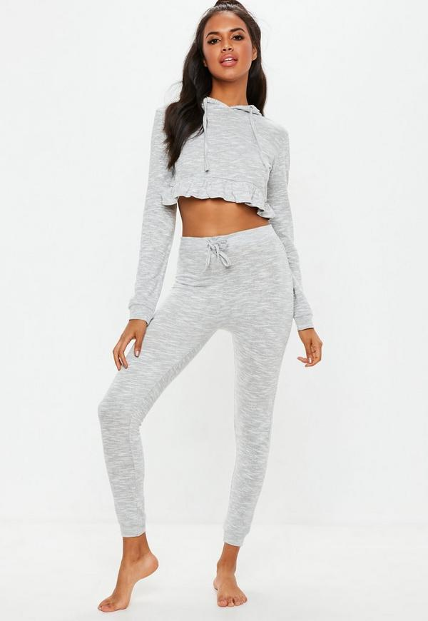 Ensemble loungewear gris sweat et legging  e7f34ac4c07
