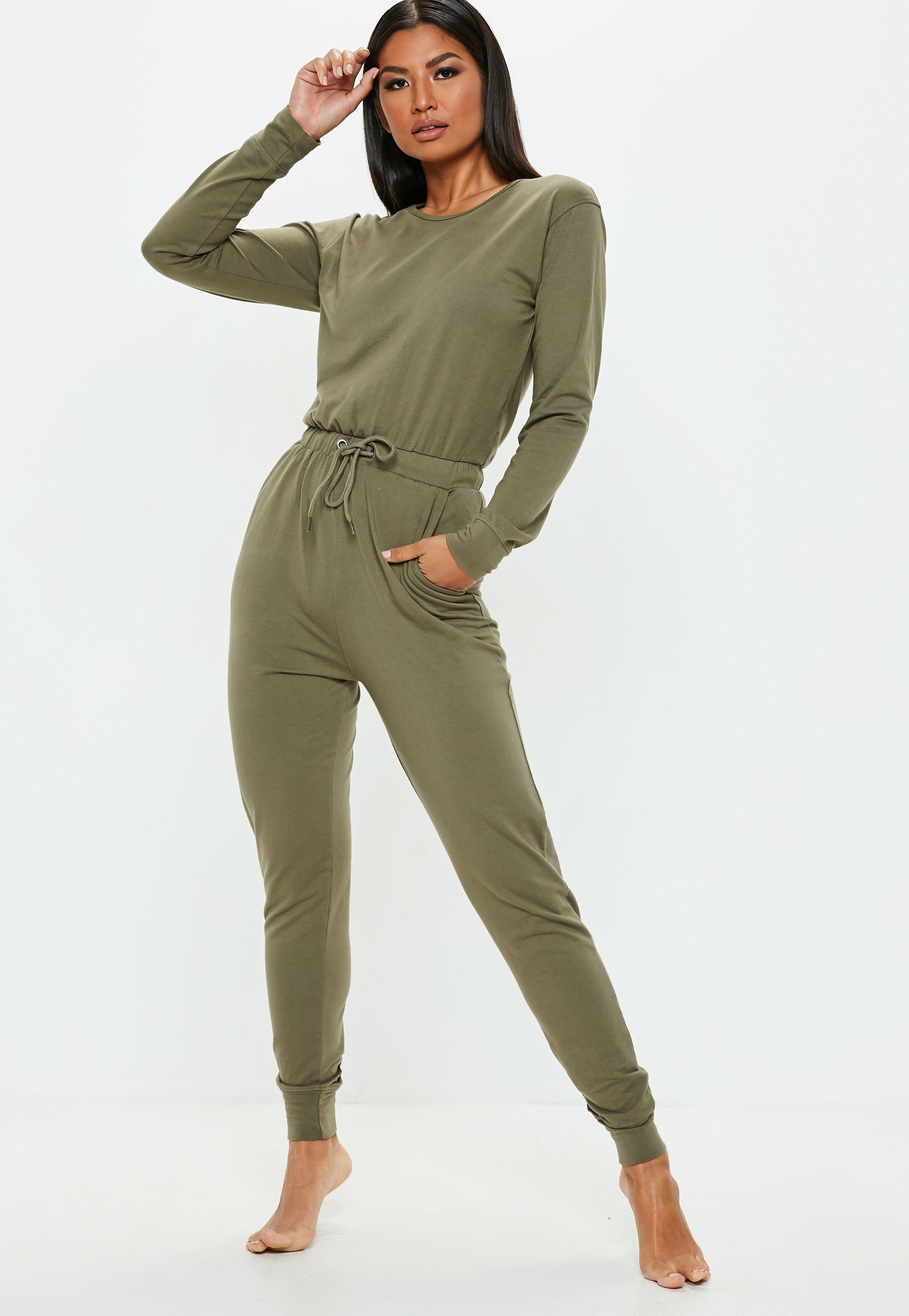 04065dfa1f534 Combinaison casual   Combinaison jersey femme - Missguided