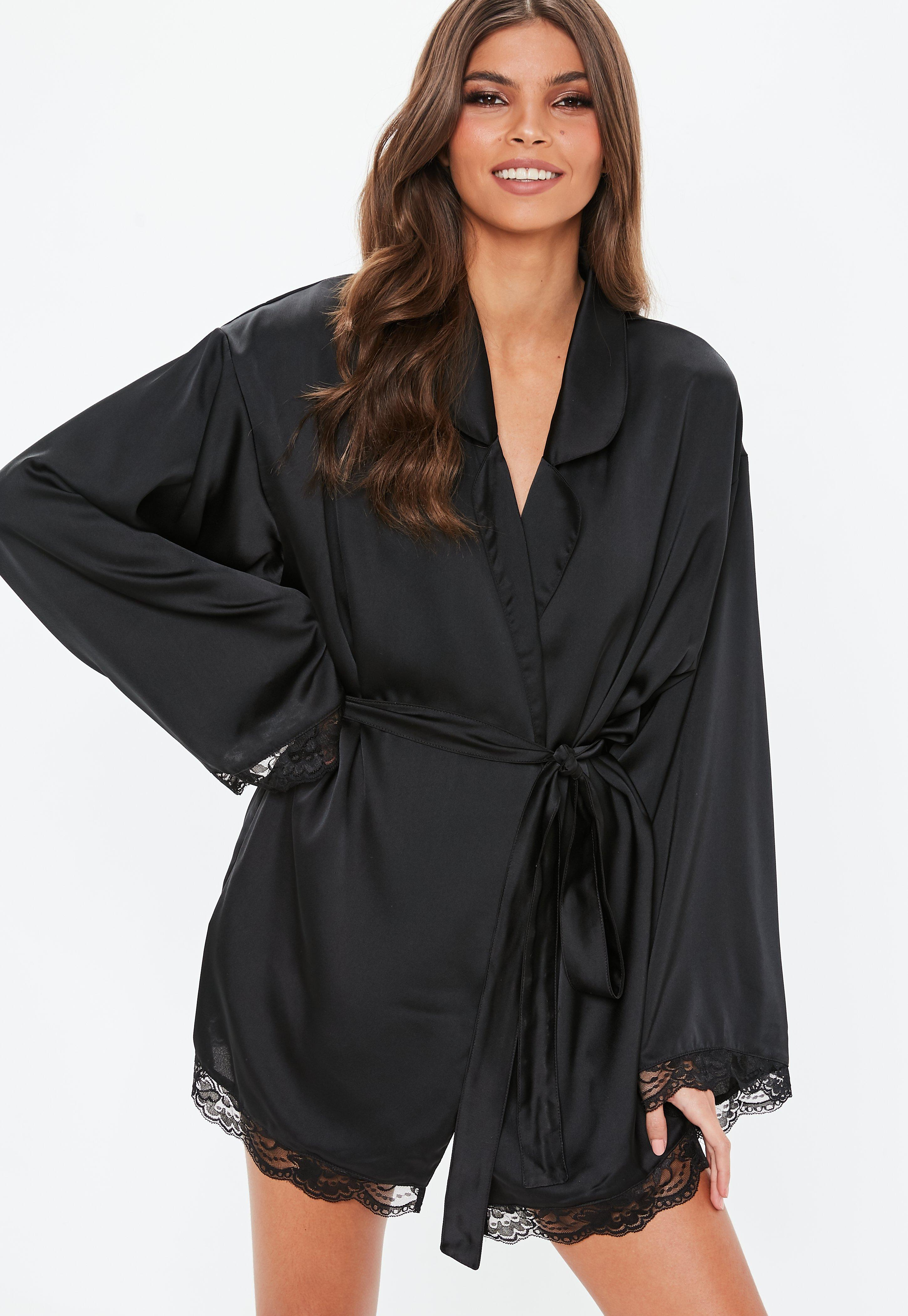 Women\'s Dressing Gowns & Satin Robes - Missguided