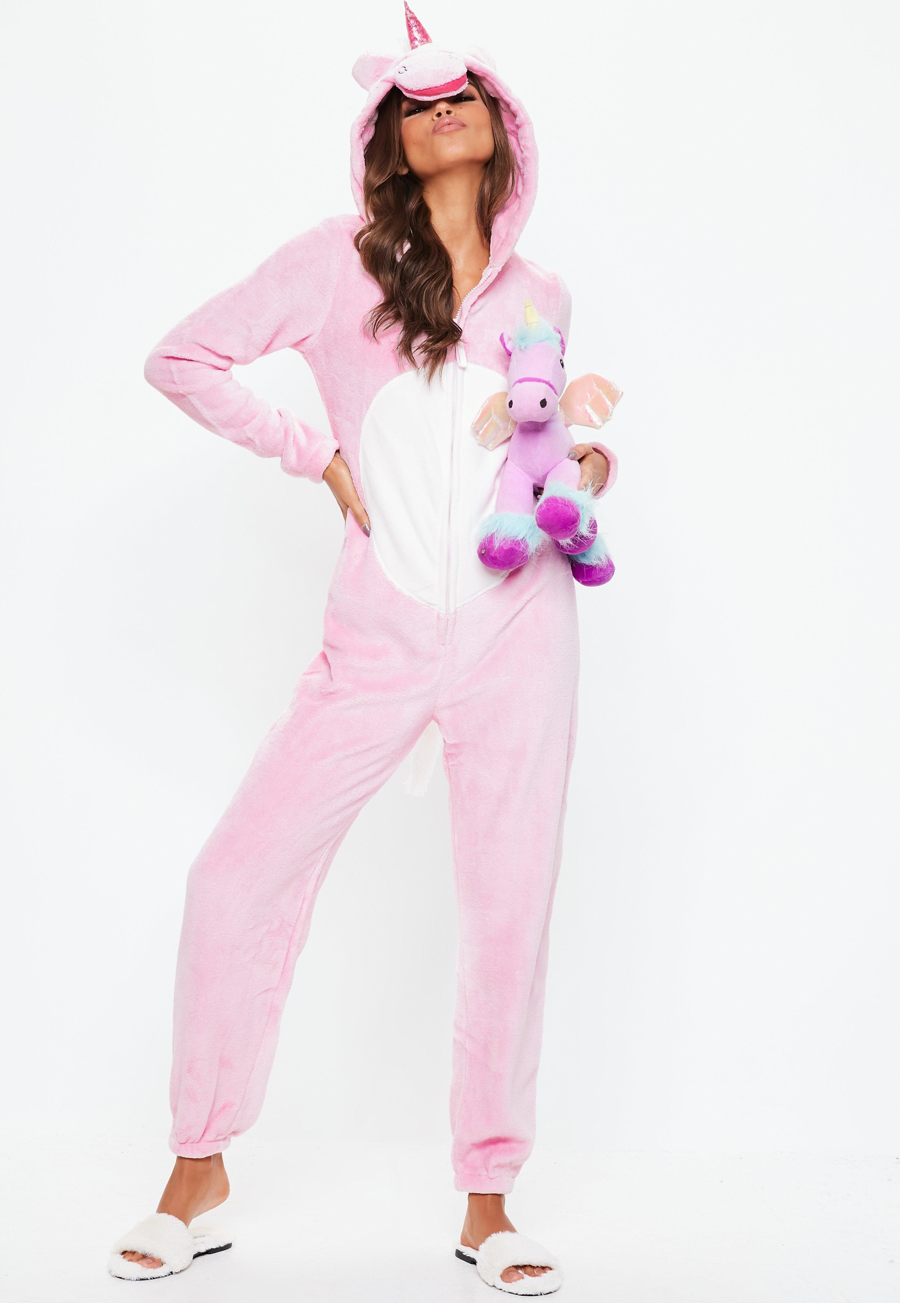 ea777d3751b6 Pink Unicorn Onesie