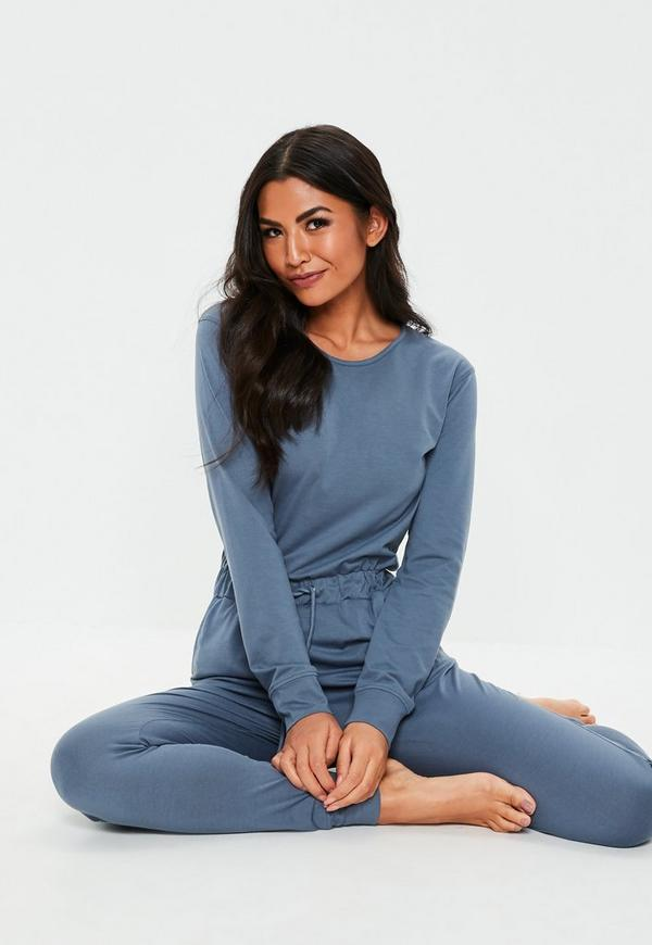 51a51a0681f4 ... Blue Casual Loungewear Jumpsuit. Previous Next
