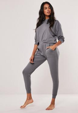 e06af0a8 Grey Marl Oversized 90's Joggers