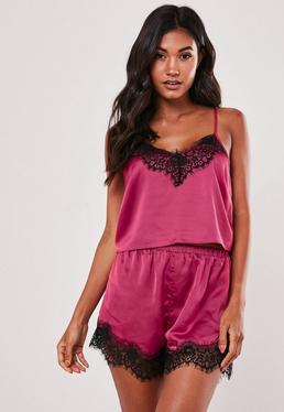 5ac5fcaf3 Womens Pyjamas & PJs, Silk & Satin Pyjama Sets - Missguided