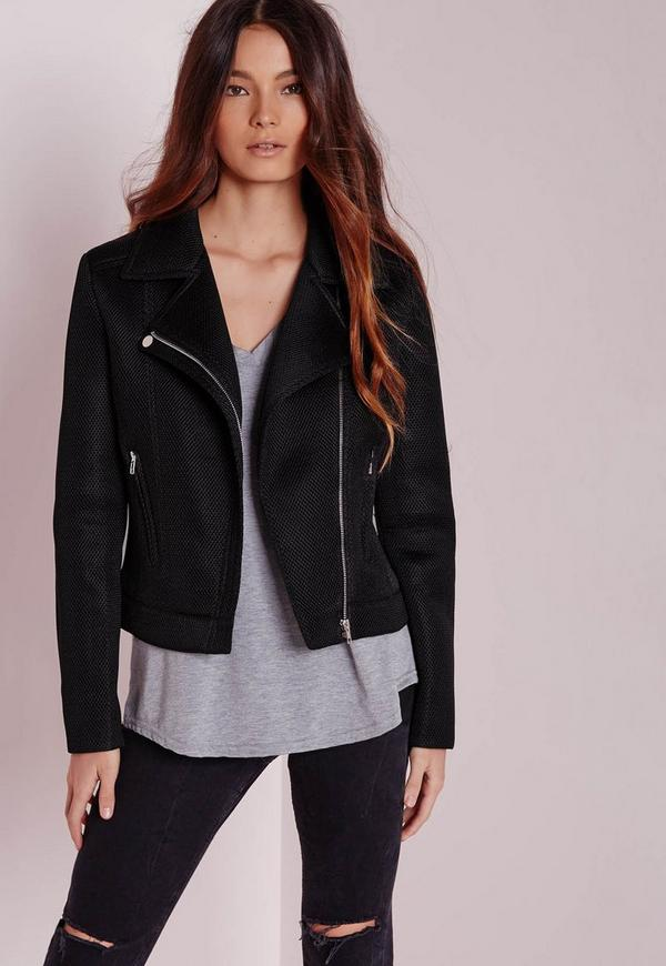 Airtex Biker Jacket Black