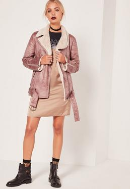 Classic Aviator Jacket Rose