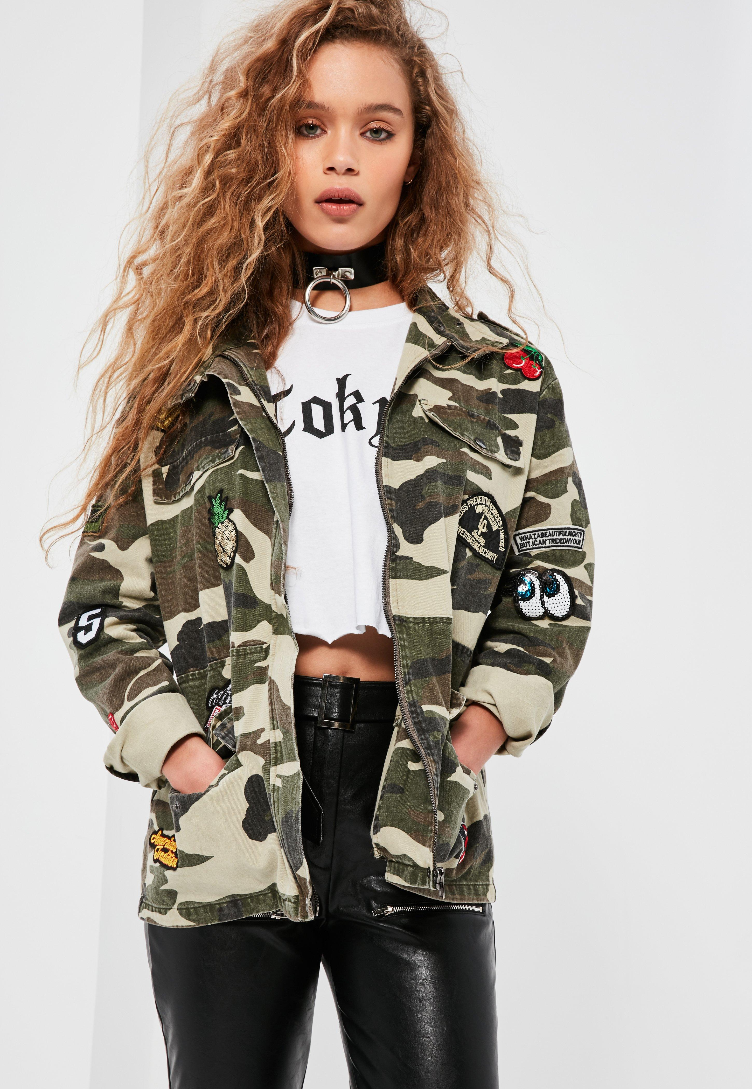Missguided Militaire vert