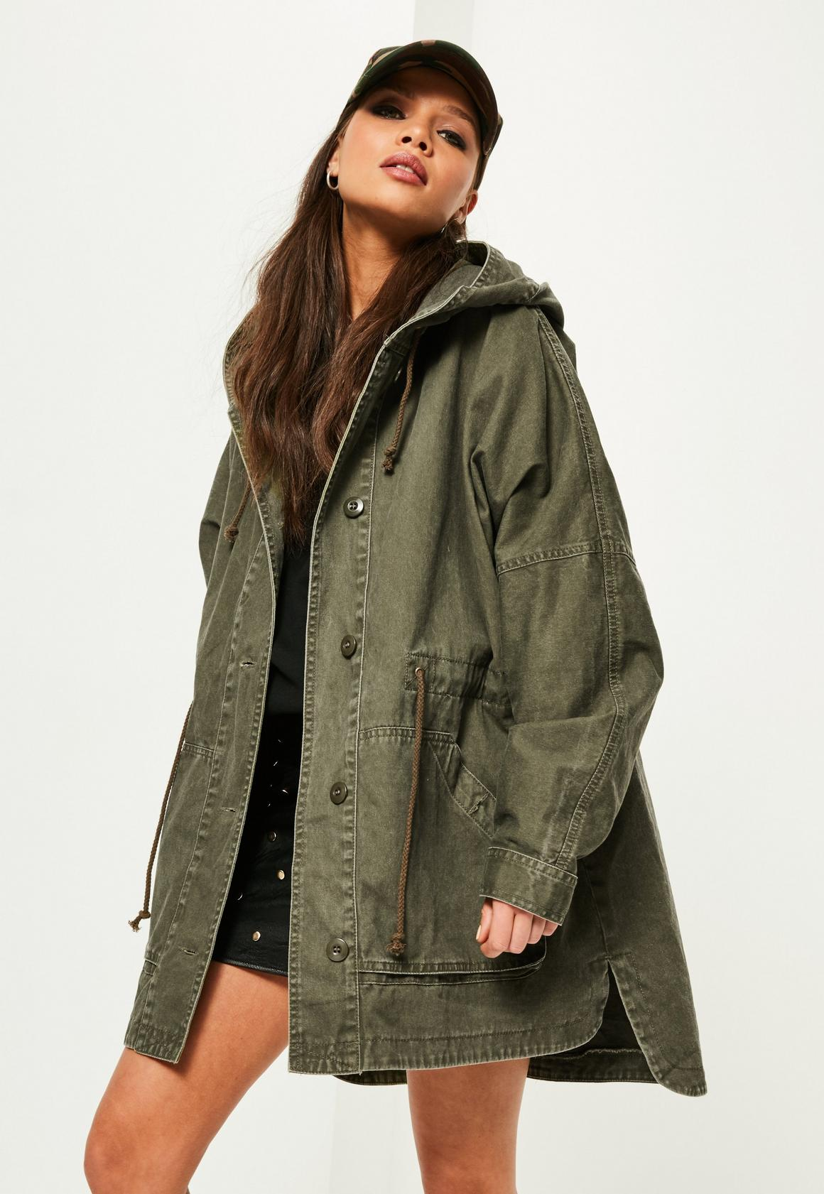 Military Jackets | Military Style Camo Coats - Missguided