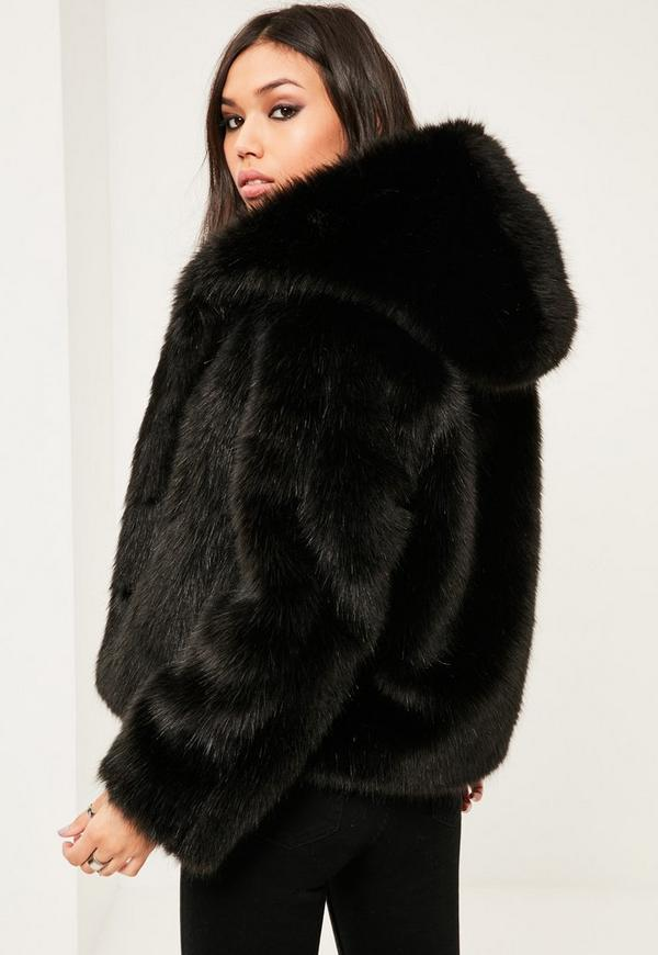 Tion Bridal Black Faux Fur Jacket Long Sleeve-Black-M. Sold by Tion Design. $ $ Nautica Fragrances Coffret Nautica Men's Removable Faux-Fur Jacket (M, Silver Birch) wondershopping Women Ladies Outerwear Warmer Winter Long Warm Thick Parka Faux Fur Jacket Hooded Coat. Sold by Wondershopping. $ $