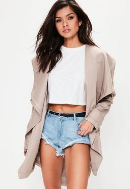 Nude Waterfall Parka Jacket