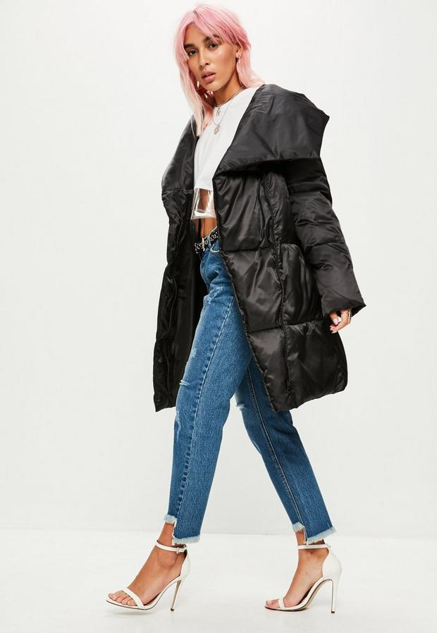 Missguided - Waterfall Puffer Jacket - 2