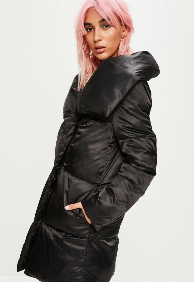 Missguided - Waterfall Puffer Jacket - 3