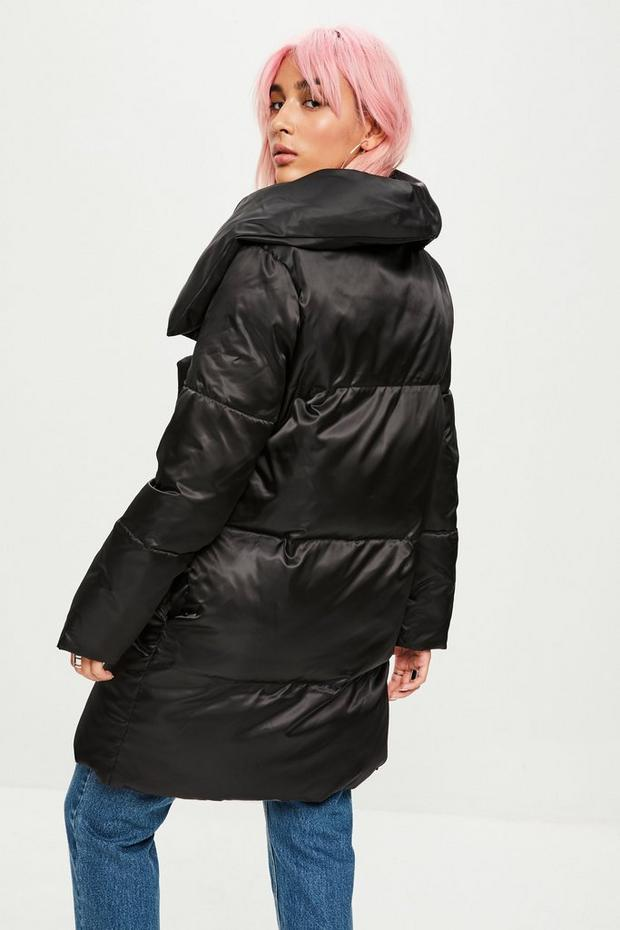 Missguided - Waterfall Puffer Jacket - 4