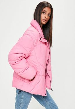Pink Ultimate Oversized Padded Jacket